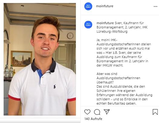 Moin Future Anleitung Botschafterfilme IHK Ausbildungsbotschafter*innen Karrierebotschafter*innen ja moin