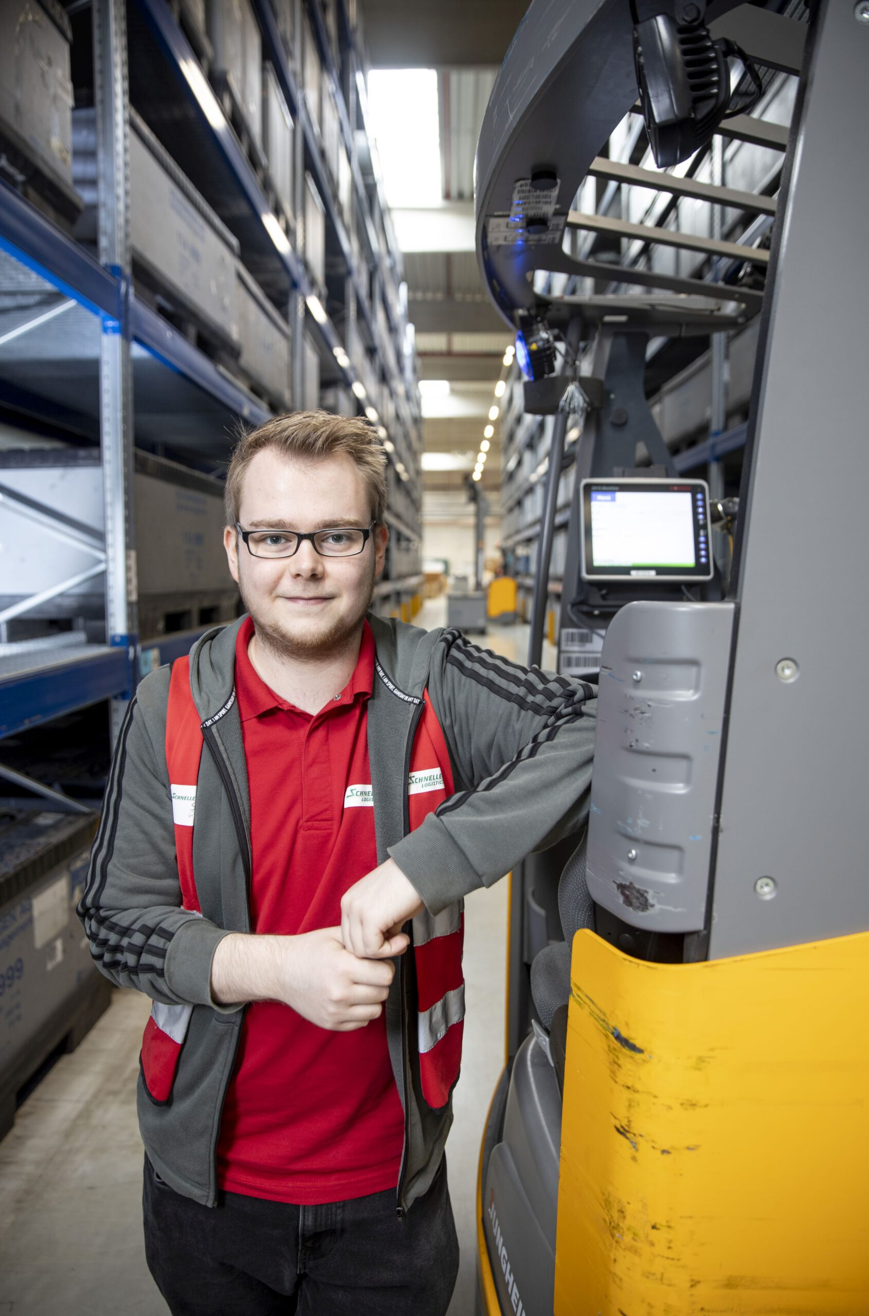 Moin Future IHK Kenny Schieke (23) - Schnellecke Logistics Soltau