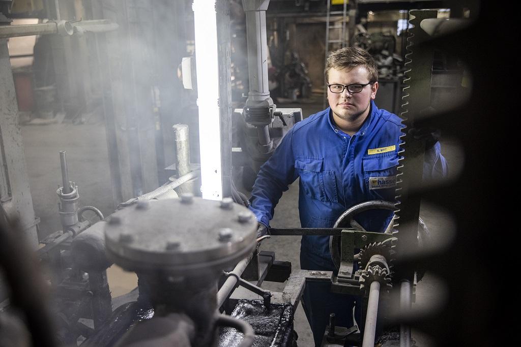 Nils Witt Maschinen- und Anlagenführer
