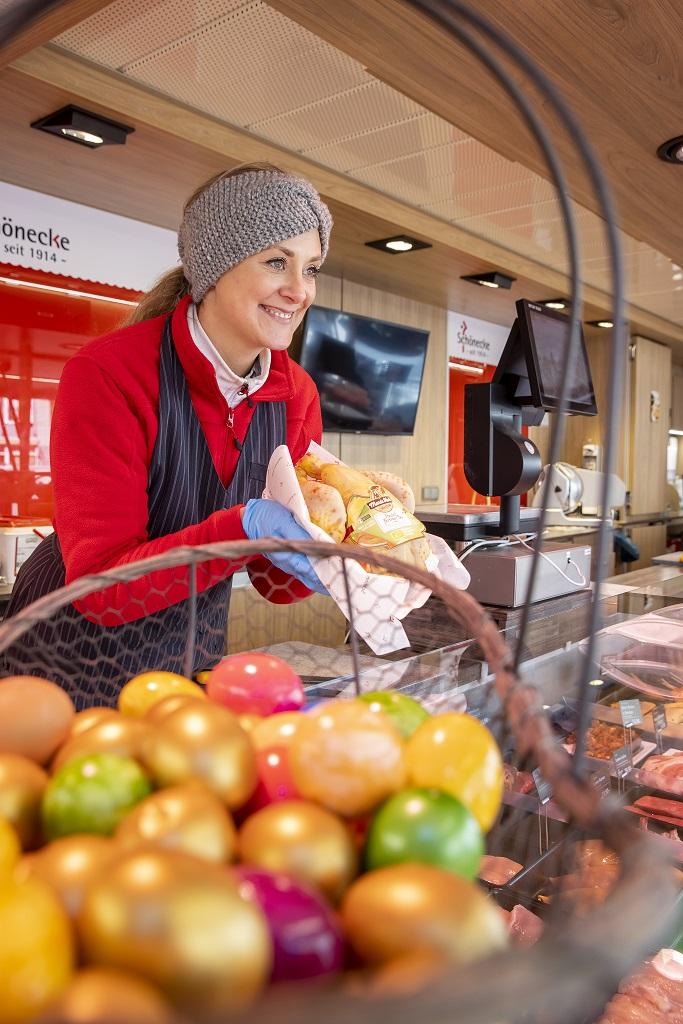 Ausbildung zur Einzelhandelskauffrau, Patrycja Marktstand, Geflügelhof