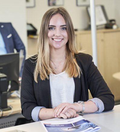 Marie Duchow Ausbildung zur Kauffrau für Büromanagement IHK in Stade