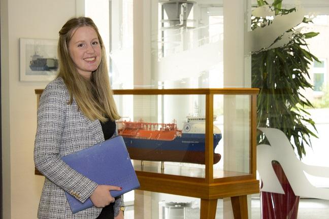 Rebekka Hildbrands Ausbildung Schifffahrtskauffrau in Leer