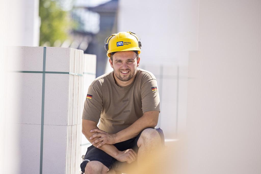 Daniel Söhnholz von Meyer Bau in Uelzen als Stahl- und Stahlbetonbauer